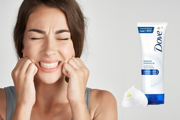 Your skin feels too dry