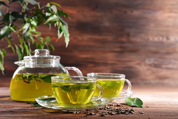 Sip on green Tea