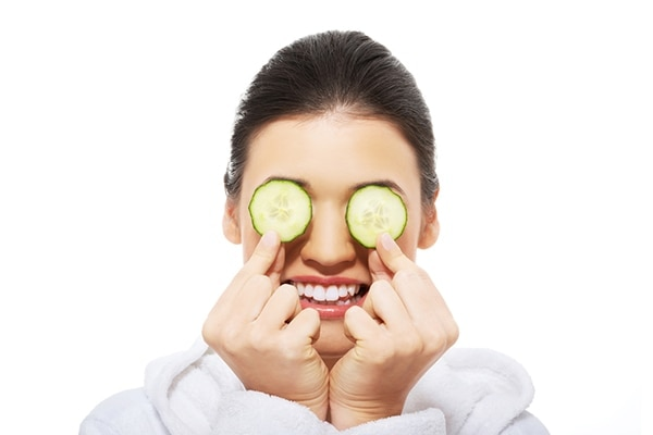 skin loves cucumber