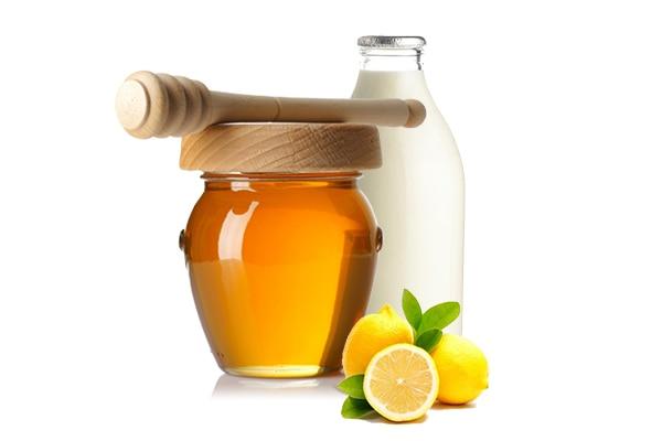 Nước chanh + mật ong + sữa