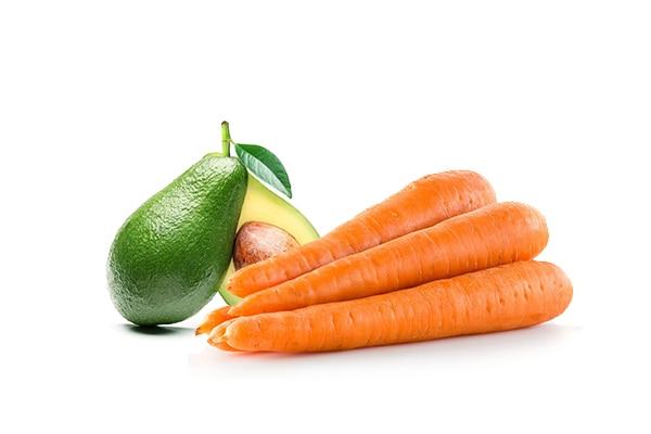 Cà rốt + bơ