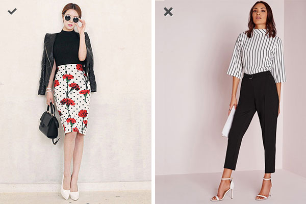 Pick skirts, ditch trousers