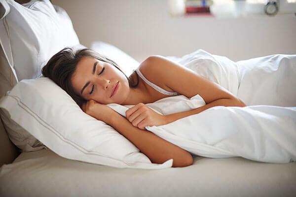 You sleep on unwashed bedsheets