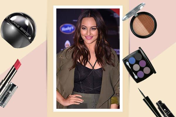 sonakshi sinhas matte makeup look