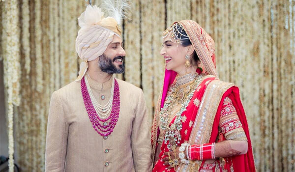 All about Sonam Kapoor and Anand Ahuja's fairytale wedding!