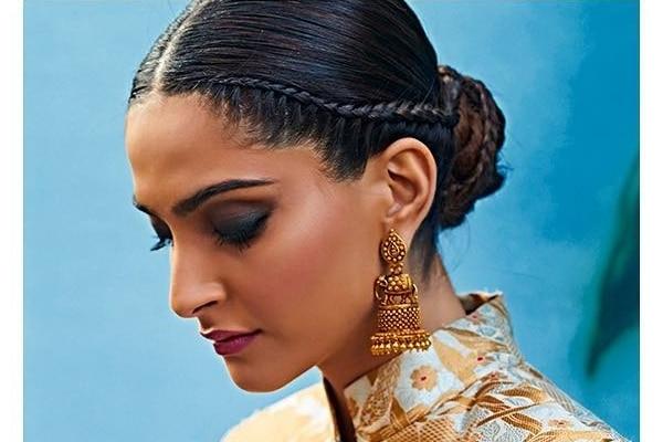sonam kapoor hair stylish