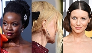 Spotted: The Best Hairstyles and Accessories at the Golden Globe Awards 2019