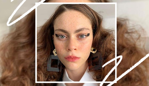 Square eyeliner is the latest trend everyone's talking about