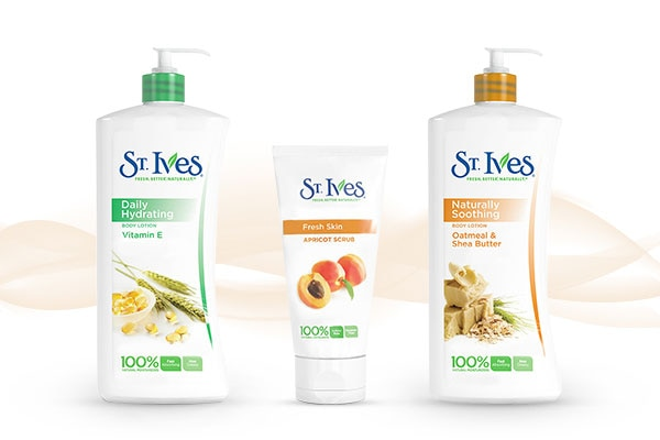 st ives soothing oatmeal shea butter body lotion for skin