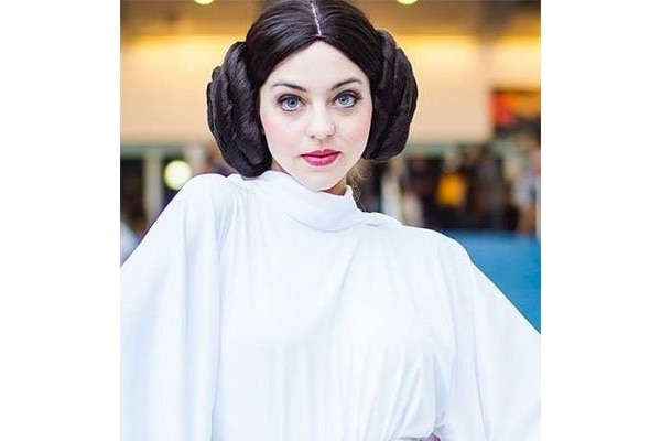 The Princess Leia Look