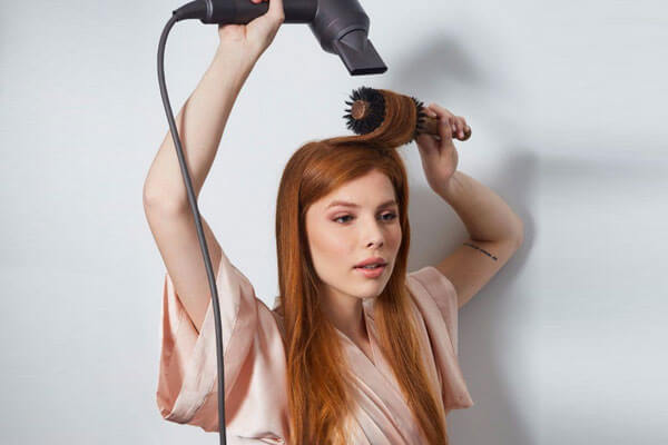 start blow drying to get perfect blowout at home