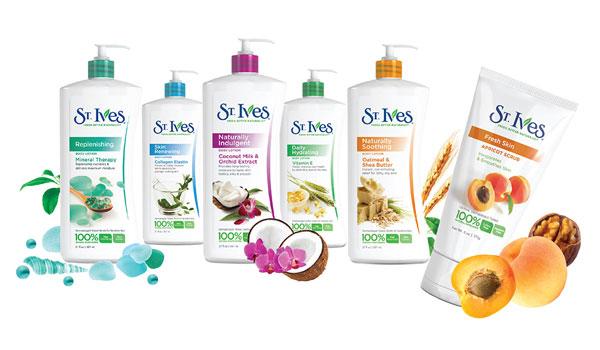 BB Picks—St. Ives Apricot Scrub and the body lotion range