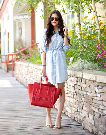 street style looks from celebs and bloggers 430x550