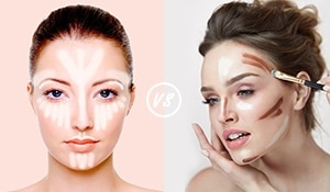 Strobing or Contouring? Find out which makeup technique is made for you...