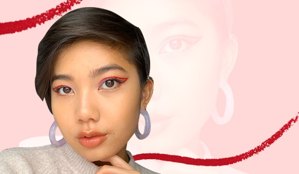 5 red eyeliner looks that will make you ditch the classic black