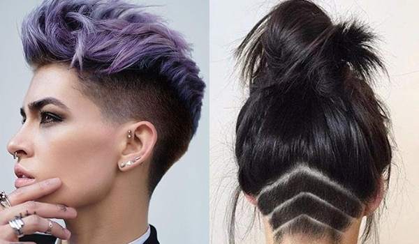 Stylish undercut hairstyles that are trending in 2019