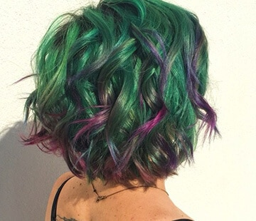 Succulent hair colour