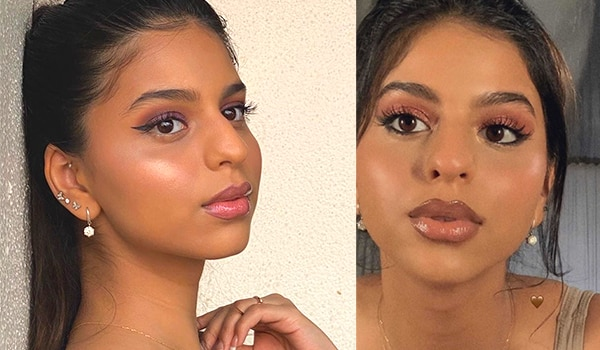 Suhana Khan is a sight to behold in her latest glam makeup look