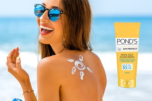 Switch to an oil-free sunscreen to prevent breakouts