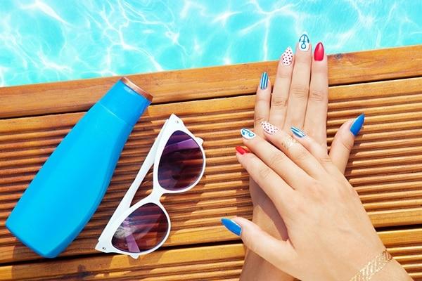 Splash ready by the pool