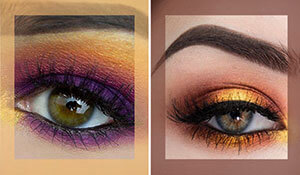 BB Trend Alert—Sunset eye shadow