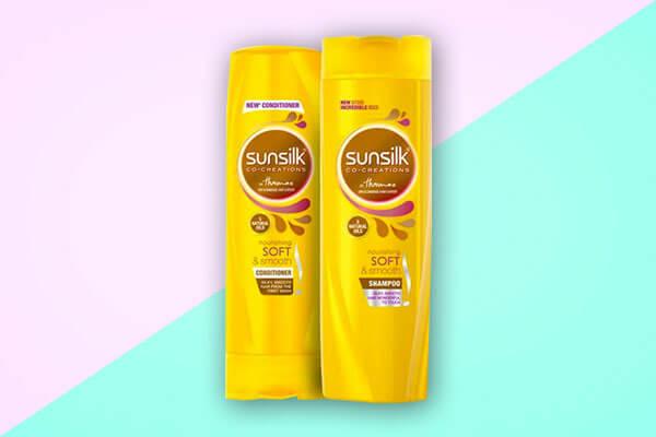 Sunsilk Nourishing Soft and Smooth Shampoo and Conditioner