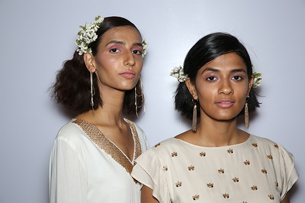 sustainable hair accessories lakme fashion week day2