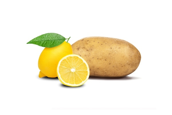 Potato + lemon
