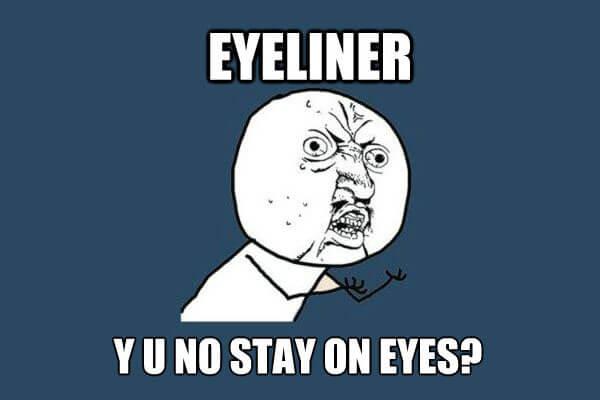 the magic of waterproof eyeliner