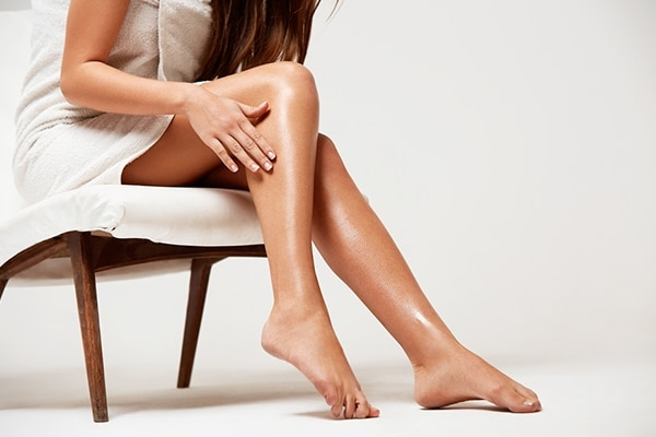 Avoid moisturising on the day of your appointment