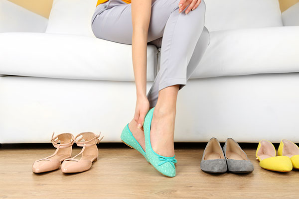 Let your feet breathe