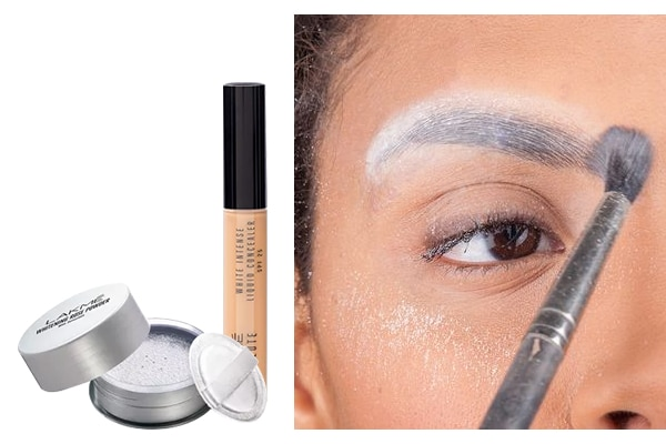 Get the faux no-brow look