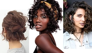 Trendy hairstyles for short curly hair to step up your style game in 2019