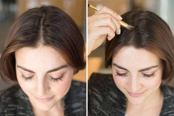 trick to change hairline