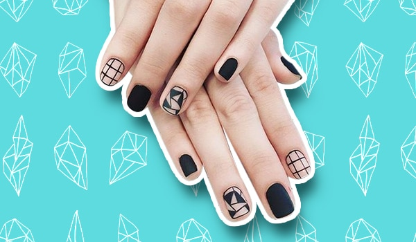 You need to try these geometric nail art designs STAT
