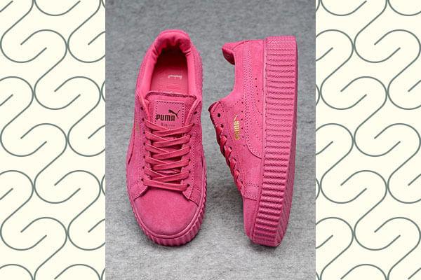 unique shape sneakers
