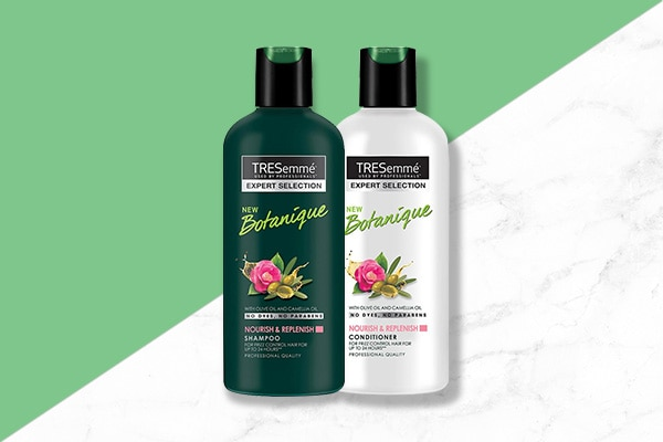 use TRESemme Botanique Detox and If your hair needs a detox cleansers for your summer hair