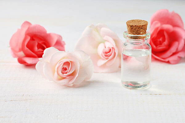 Make use of rose water