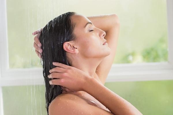 Deep cleansing hair