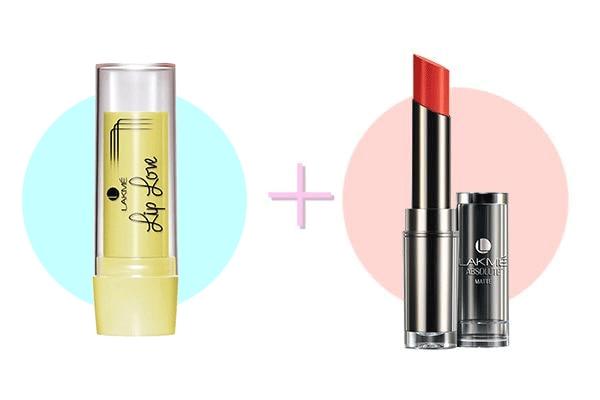 Lip Balm + Matte Lipstick