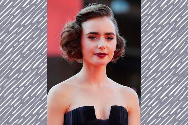 vintage chic hairstyle on red carpet
