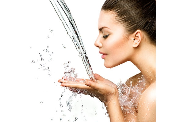 Wash your face only twice a day