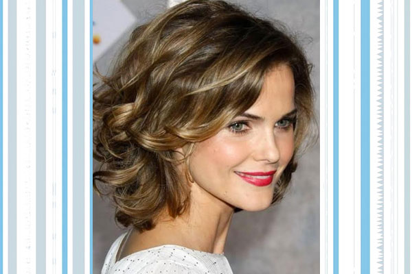 wavy layers hairstyles for big foreheads
