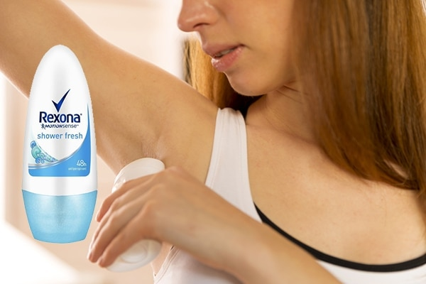 Keep body odour in check