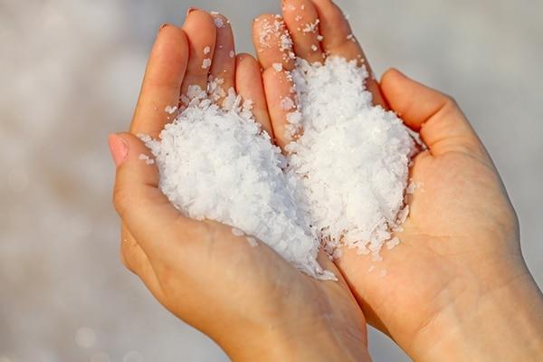 Sea salt scalp scrub