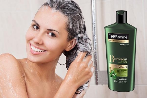 Deep cleansing detox shampoo