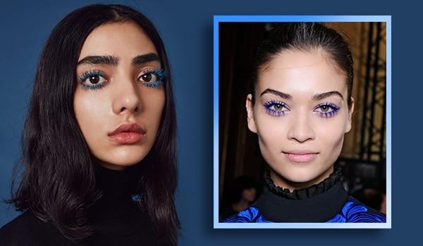 Feelin' blue—3 super cool ways to wear blue mascara like a pro!