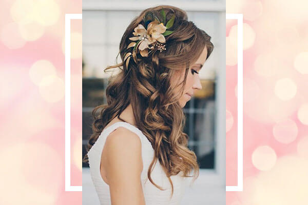 wedding hairstyle for sangeet