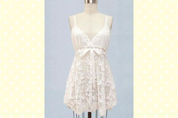 Wedding-night lingerie