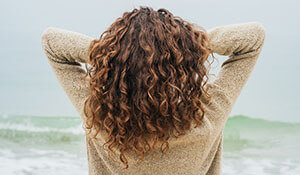 Winter haircare hacks for the curly haired girl